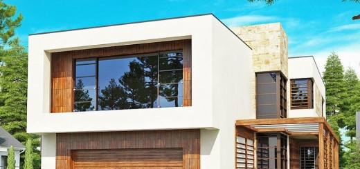 Two story modern house plans for all