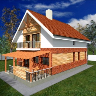 Attic houses under 150 square meters for all