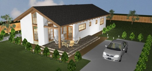 Small modern single level houses for all