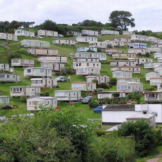 Mobile homes in Romania