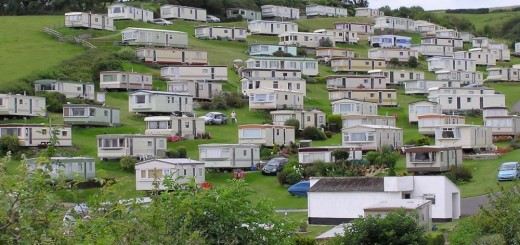 Mobile homes in Romania