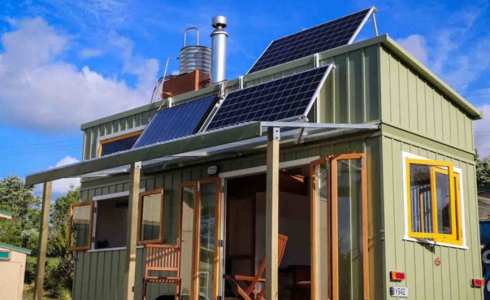 The off-grid tiny house in NZ