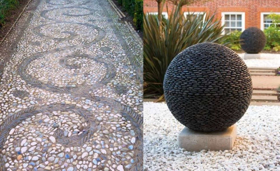 15 Decorative Stone Garden Landscaping Ideas Houz Buzz - Stone-garden-ideas