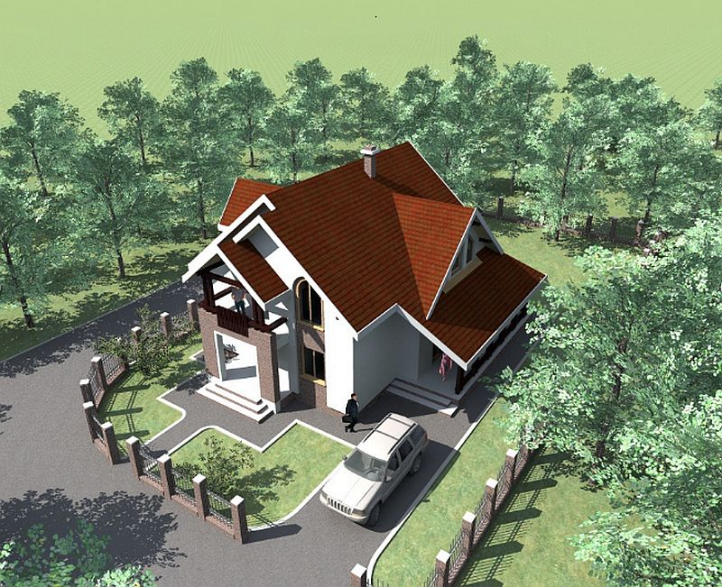 Do It Yourself Home Design: Two Story Medium Sized House Plans