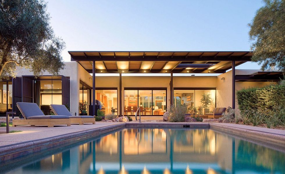Modern Rest House Design