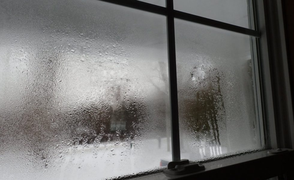 what causes window fog