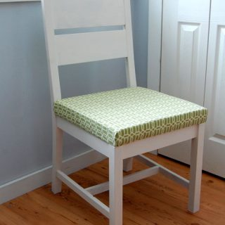 how to make a chair, step by step
