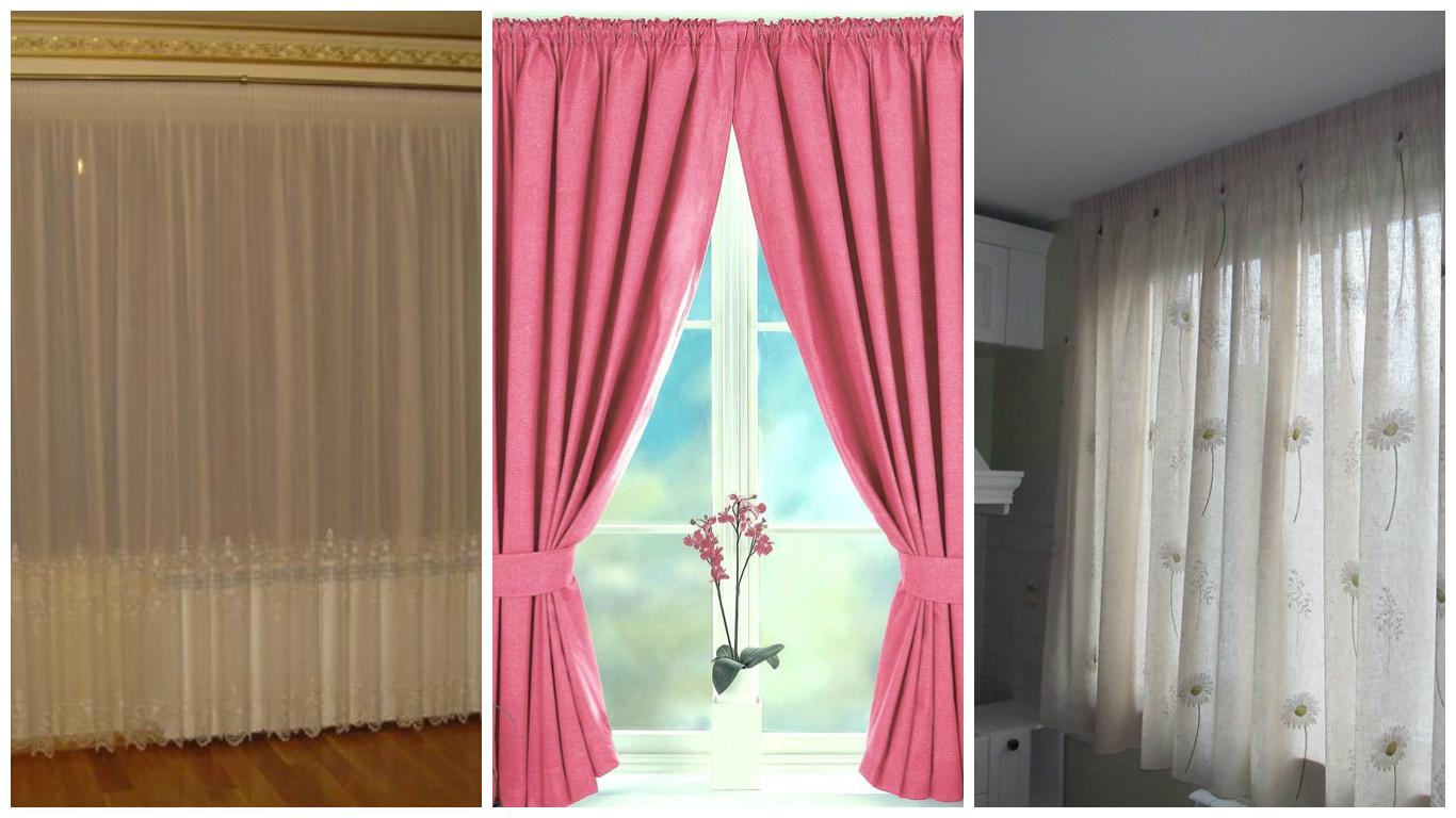 how to decide curtains length