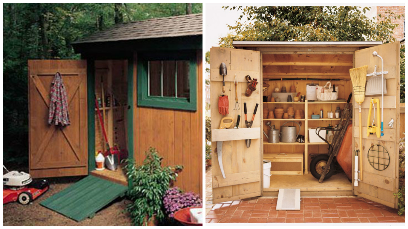 how to build a toolshed - Garden Tool Shed