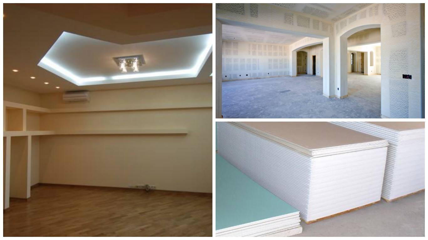 using plasterboard - pros and cons