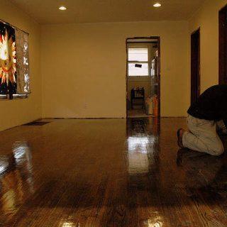 how to make wood floors shiny again