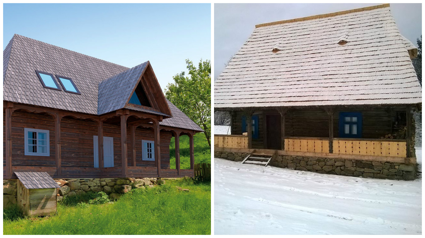 """Houses In Maramures. In Search For The Lost """"Wood"""