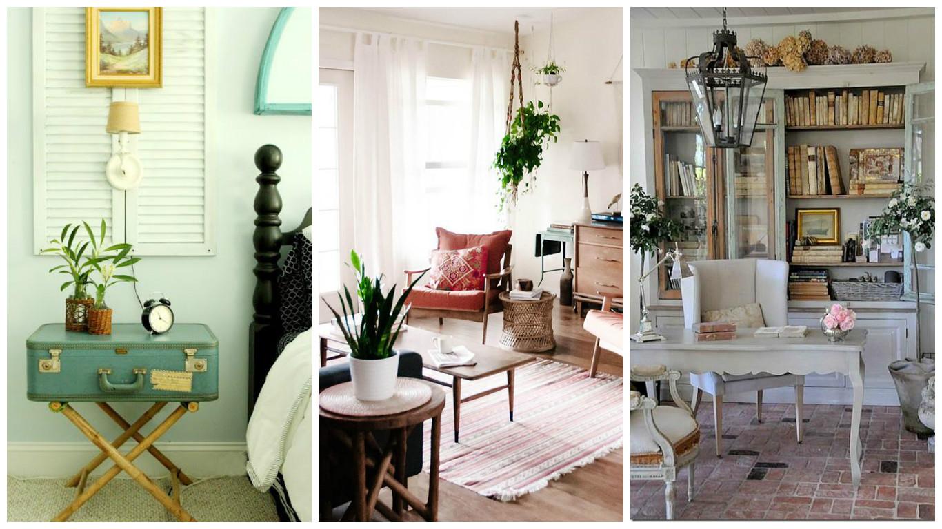 reasons for choosing vintage style furniture