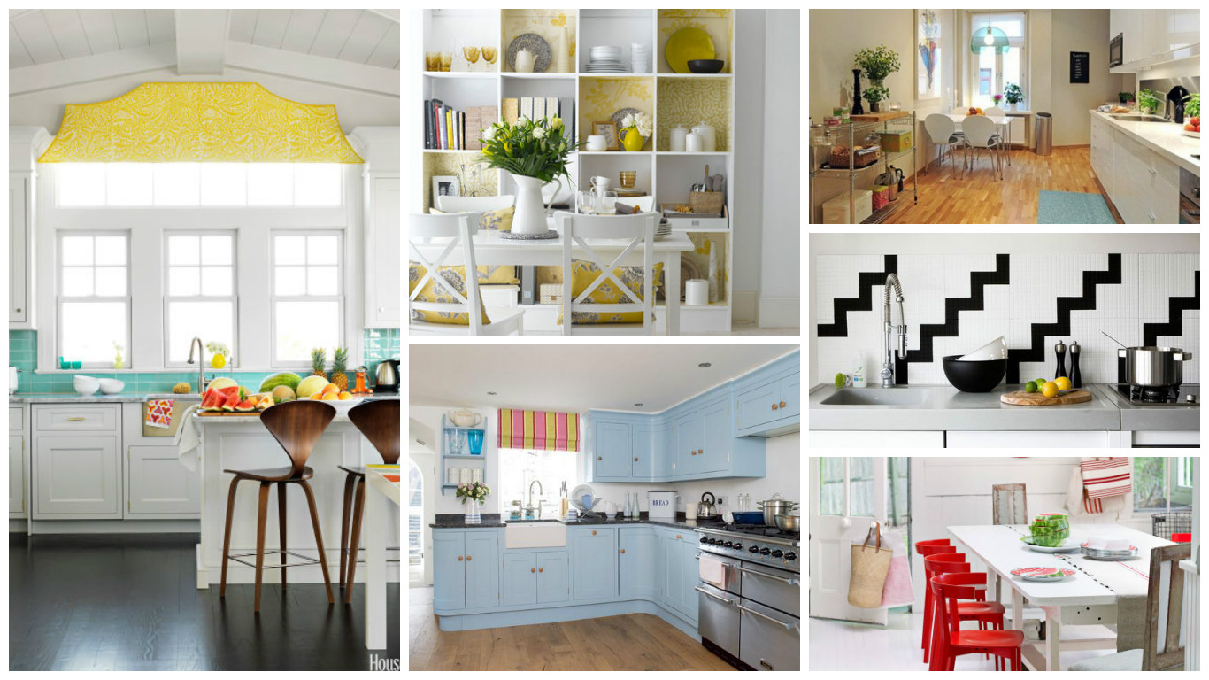 Decorating Ideas For A More Cheerful Kitchen Allow The Family S Favorite Room To Shine