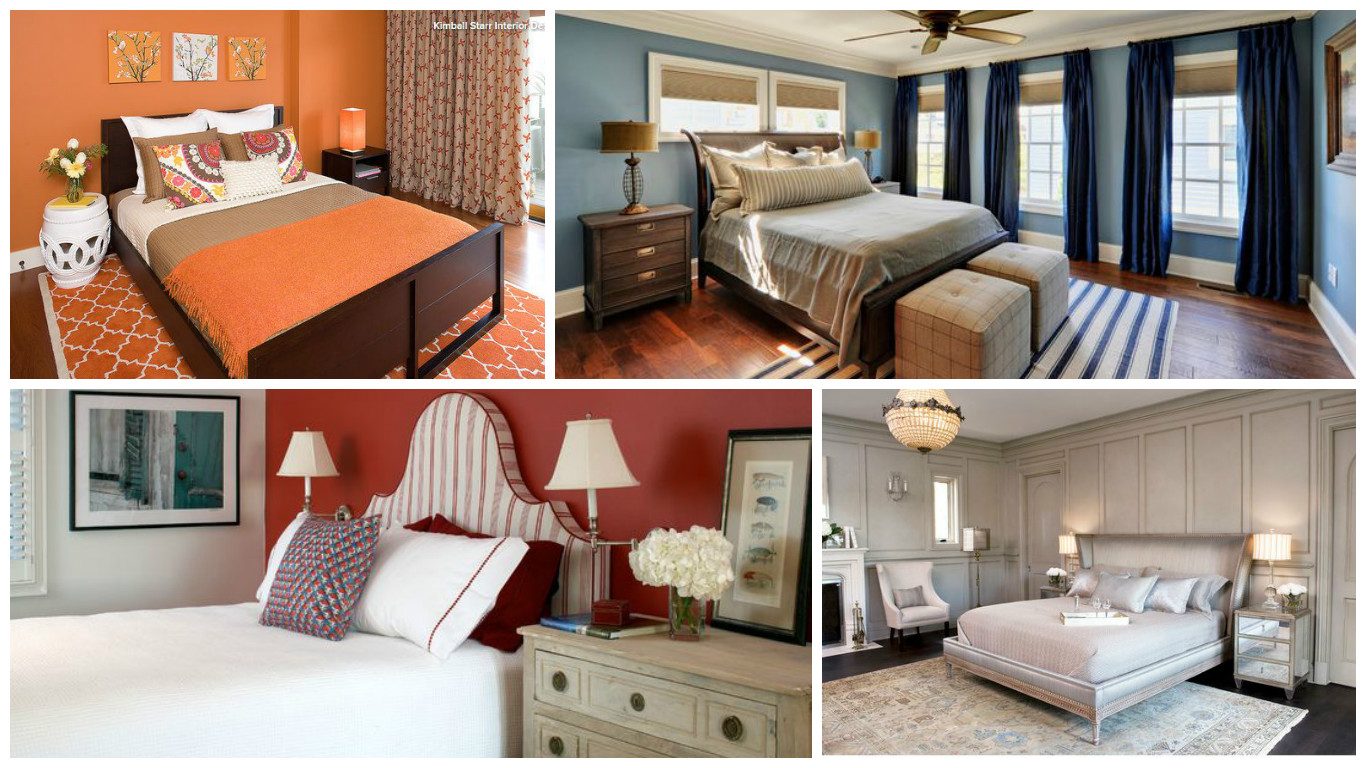 Best Colors For The Bedroom And How They Work To Improve