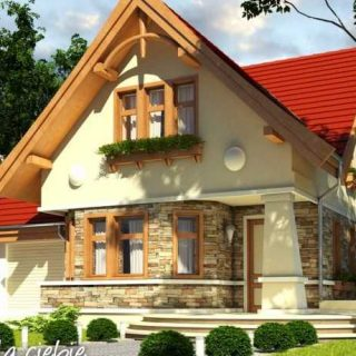 houses with natural stones facades