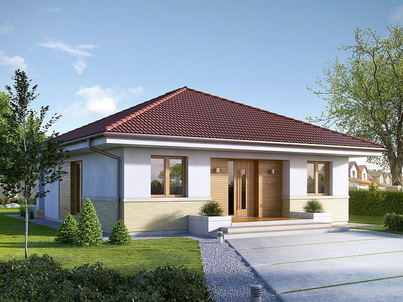 one-story two-bedroom house plans