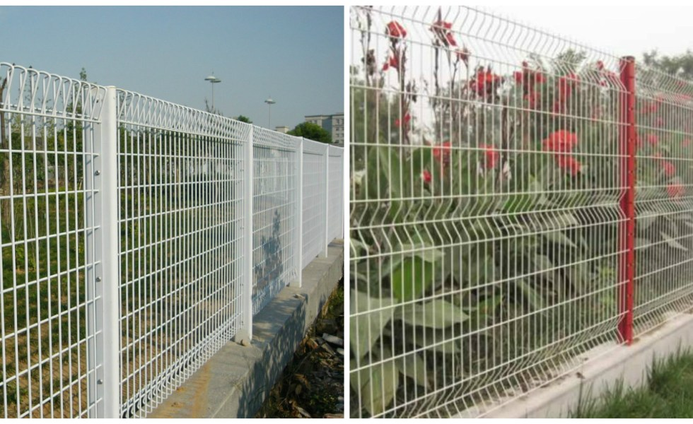 how to build a wire fence on a foundation