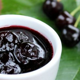 bitter cherry confiture