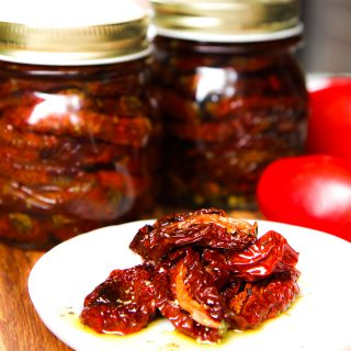 how to make sun-dried tomatoes