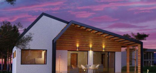 modern wood house models