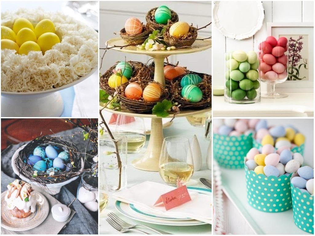 Easter Eggs & Easter Baskets. 35 Easter Decorating Ideas ...