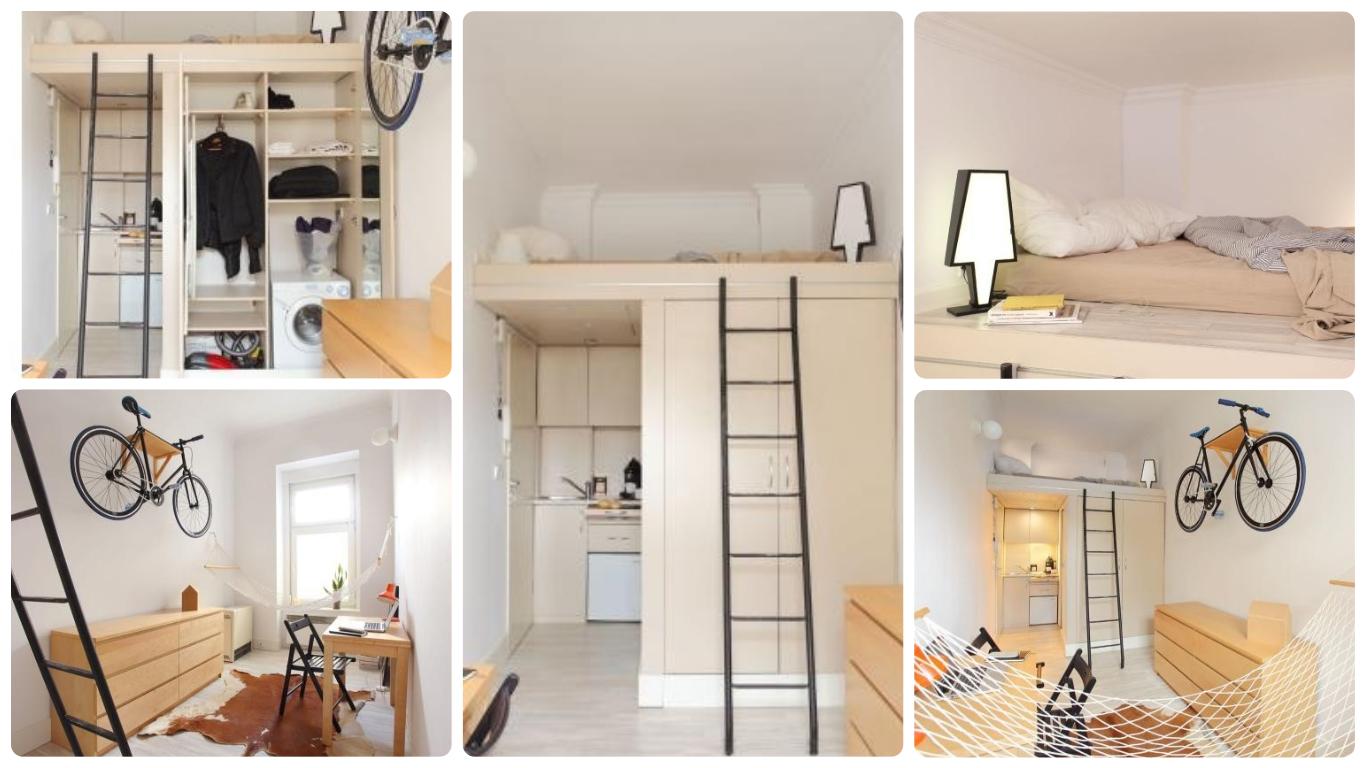 Amazing How To Decorate A 12 Square Metres Apartment Houz Buzz Download Free Architecture Designs Rallybritishbridgeorg