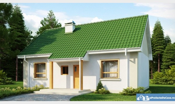 Small house plans. Examples of two-bedroom houses - Houz Buzz