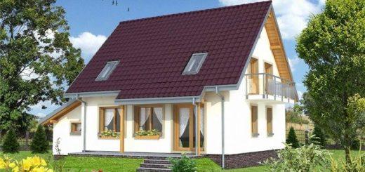 Four Room Attic House Plans