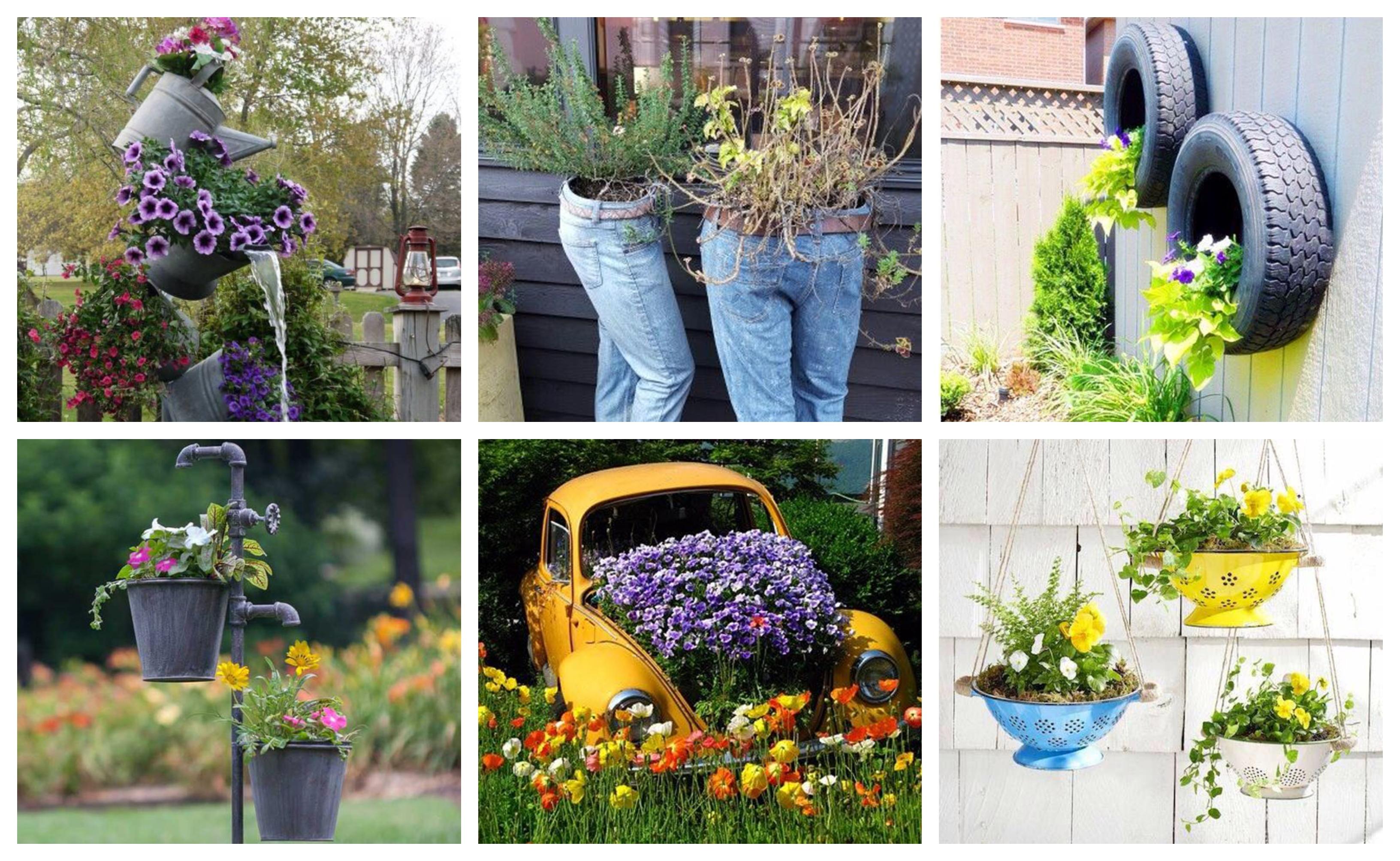 Cute And Easy DIY Garden Crafts ideas