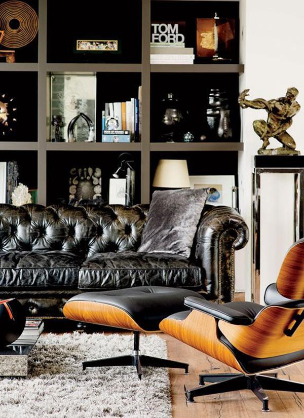 20 Best Masculine Living Room Design Ideas